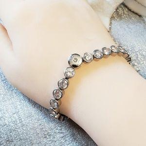 Michael Kors Cubic Zirconia Tennis Bracelet